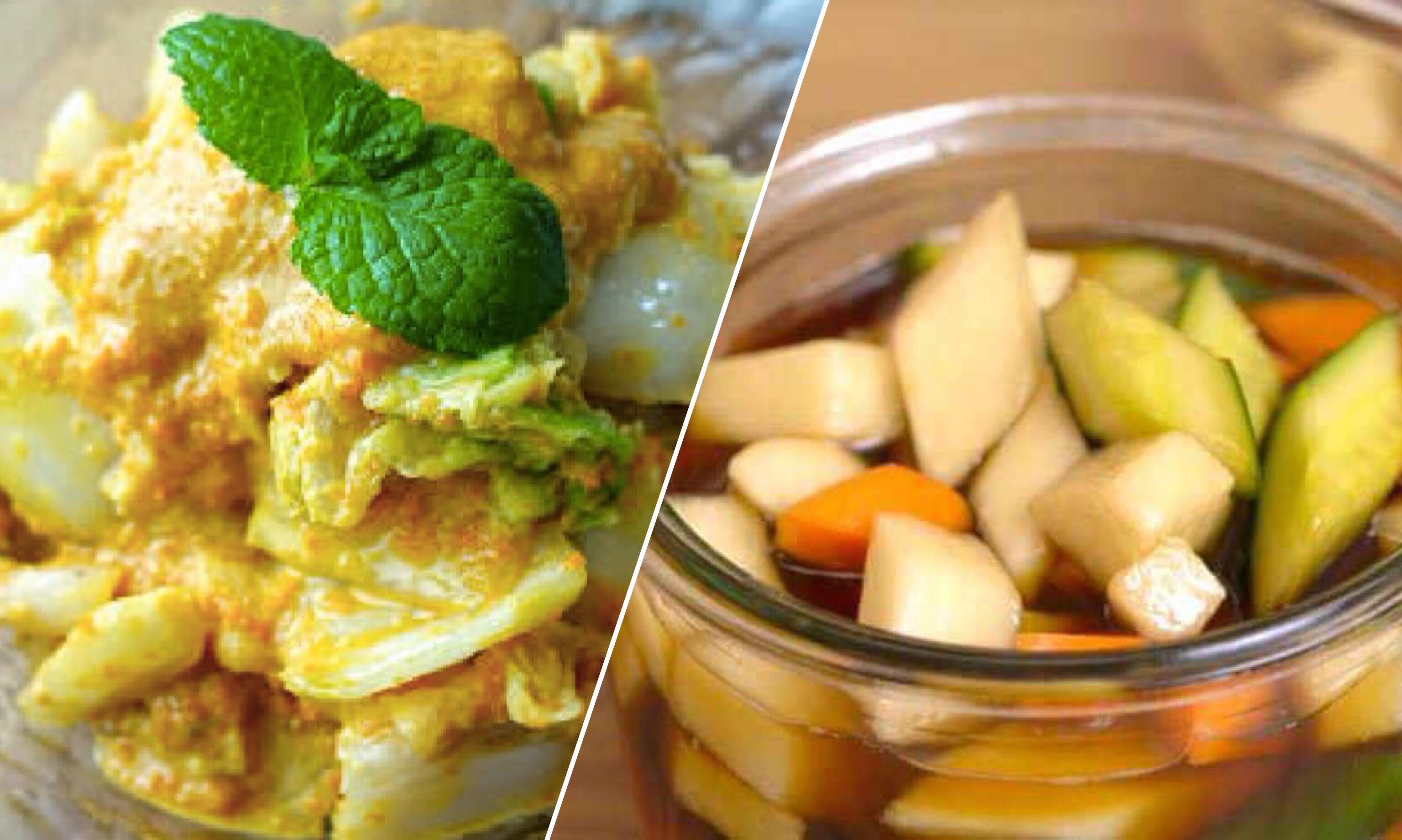 「知名團購泡菜在家怎麼做?」2 種酸甜爽脆的泡菜做法,學一次就能上手!