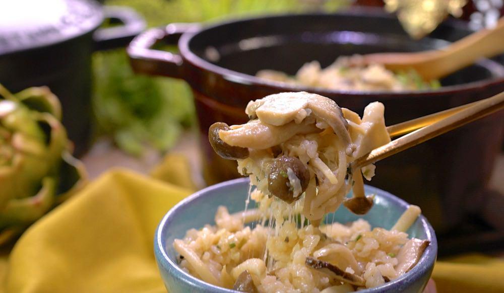 另人無法抗拒的美味竹筍菇菇炊飯,簡單ㄧ鍋到底,零失敗做法~