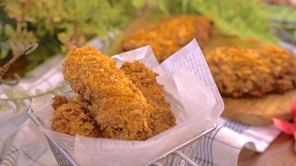 免油炸咔啦脆雞。簡單脆到爆!不失敗超酥脆配方