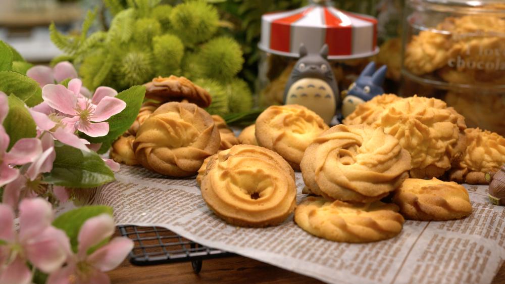 超酥脆奶油曲奇餅乾,超好吃配方!花紋立體的小撇步