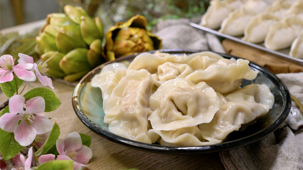 祖傳三代的私房高麗菜水餃餡怎麼調?鮮香爆汁高麗菜水餃Juicy Cabbage Dumplings
