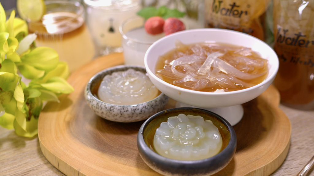 最天然的果凍石花凍,天然水晶涼粉條,自製超簡單!